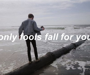 quote, fools, and music image
