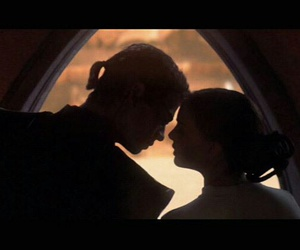 Anakin Skywalker, couple, and lovers image