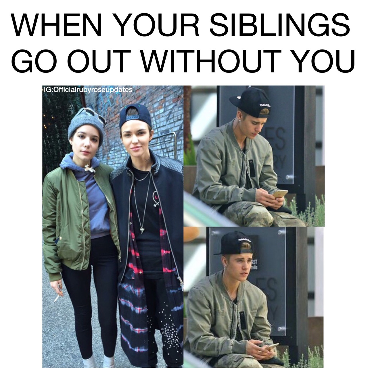 Image About Justin Bieber In Ruby Rose By Rubyroseofficialupdates