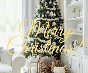 christmas, merry, and tree image