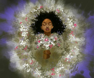 flowers, rue, and the hunger games image