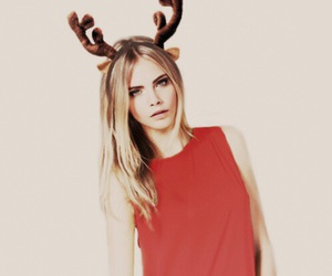 christmas, model, and cara delevingne image