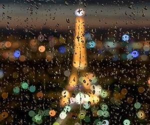 france, rain, and travel image