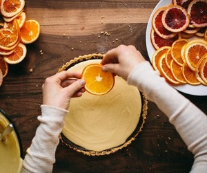 orange, food, and cake image