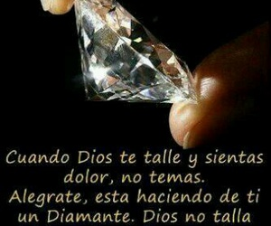 god, diamante, and frases image