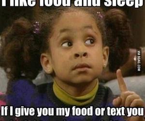 food, sleep, and funny image