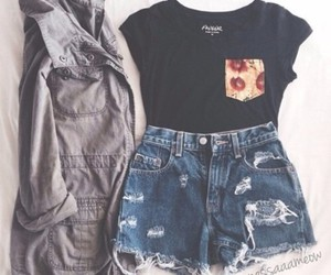 high waisted shorts summer outfit - Google Search