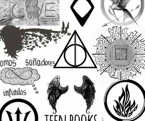 books, percy jackson, and hush hush image