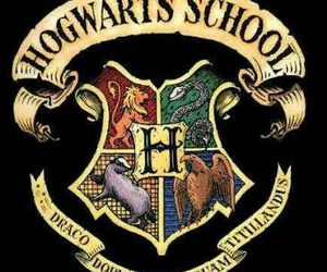 hogwarts, harry potter, and school image