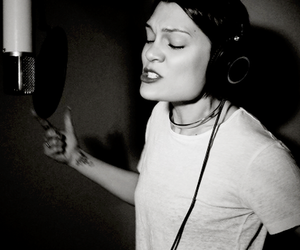 beautiful, singer, and black and white image