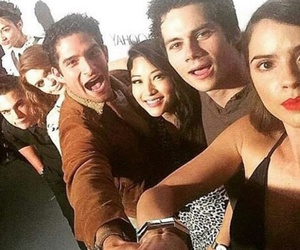 teen wolf, tyler posey, and arden cho image