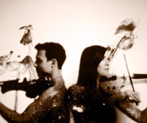 electric violin, ben lee, and linzi stoppard image