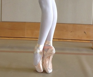 ballerina, dancer, and pointe image