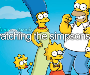 the simpsons, cartoon, and simpsons image