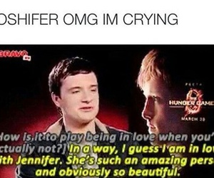 always, Jennifer Lawrence, and otp image