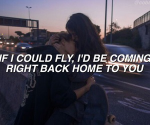 if i could fly, grunge, and one direction image
