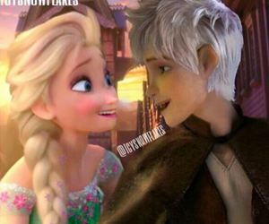 disney, rise of the guardians, and jack and elsa image