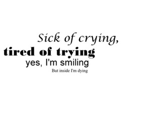 quotes, crying, and text image