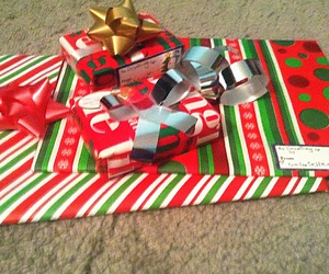 christmas, gifts, and wrapped image