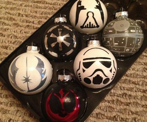 star wars, christmas, and nerd image