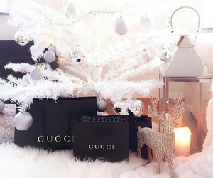 christmas, gucci, and winter image