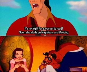 beauty and the beast, book, and disney image