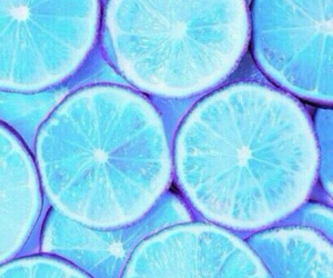 lemon, wallpaper, and blue image