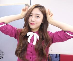 woollim, seo, and lovelyz jisoo image