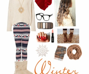 outfit, cute, and winter image
