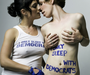 kissing, politics, and rad image