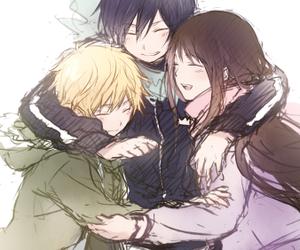 noragami, yukine, and yato image