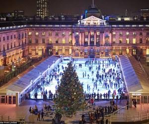 christmas, london, and Londra image
