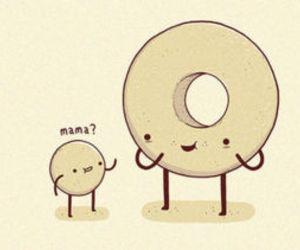 donuts, cute, and mama image