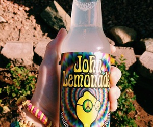 lemonade, hippie, and drink image