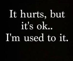 hurt, quotes, and sad image
