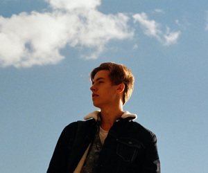 cole sprouse, boy, and sky image