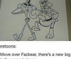 papyrus, five nights at freddy's, and freddy fazbear image