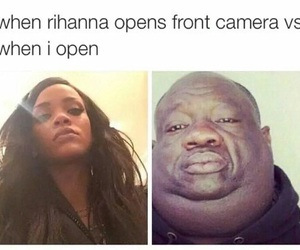 funny, rihanna, and lol image