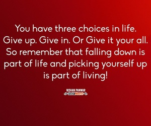 live, quotes to live by, and pick yourself up image