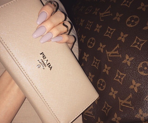 nails, Prada, and luxury image