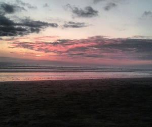 costa rica, sunset, and travel image