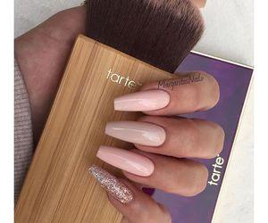 nails and brush image