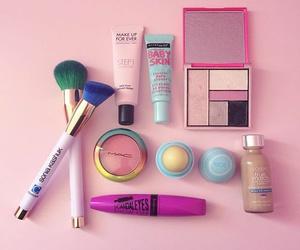 makeup, eos, and make up image