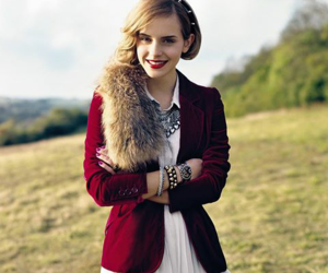 emma watson and Teen Vogue image