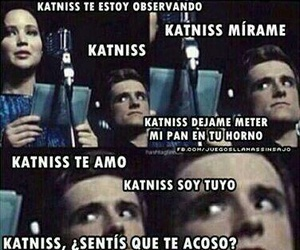 peeta, katniss, and the hunger games image