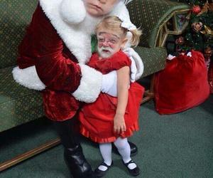 christmas, funny, and santa image