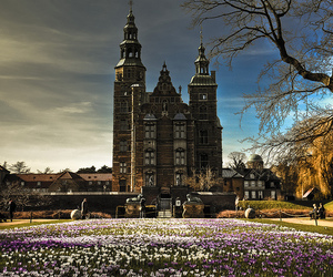 copenhagen and rosenborg castle image