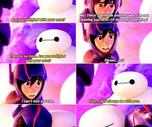 disney, baymax, and friendship image