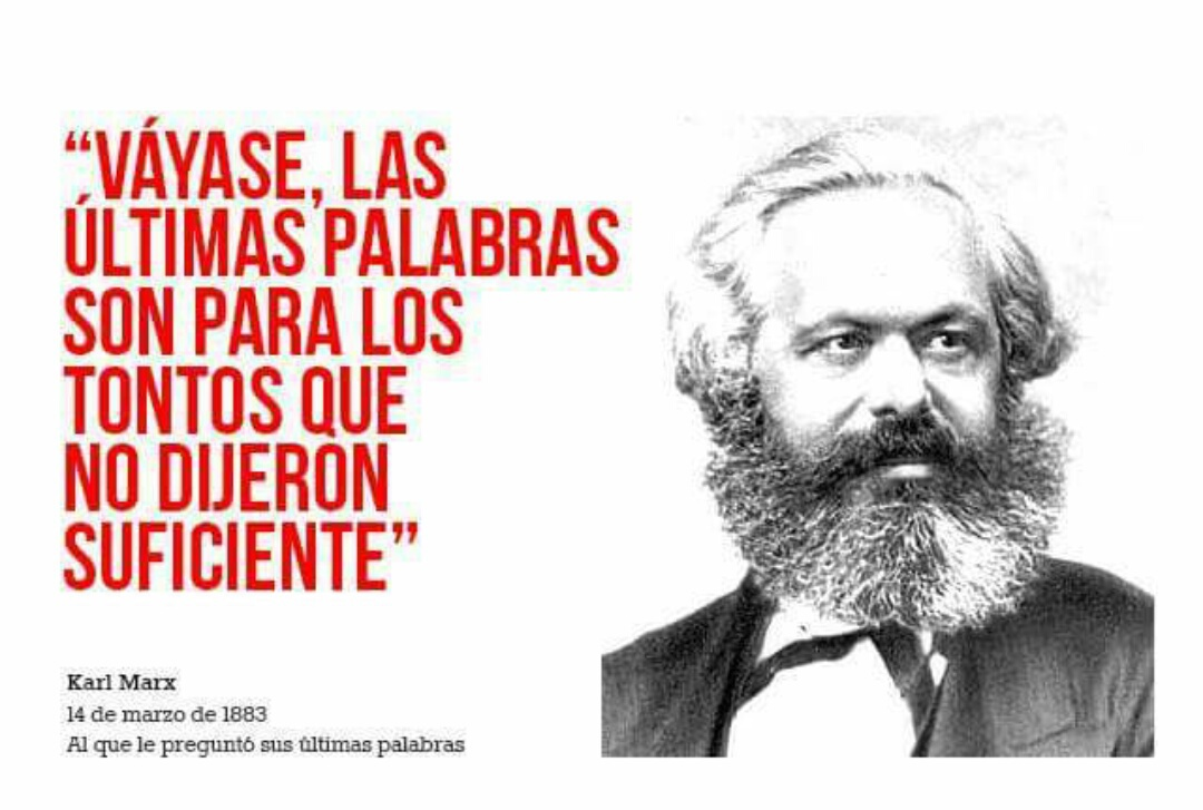 Frase De Karl Marx Uploaded By Amethyst Cr On We Heart It