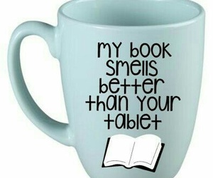 book, cup, and mug image